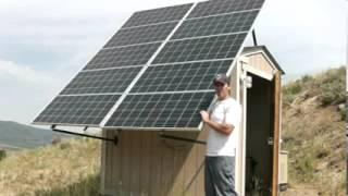 Living Off The Grid 2: Our Solar Array in Off Grid Solar Power System