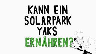 Earth Day 2017 – Kann ein Solarpark Yaks ernähren? – Apple