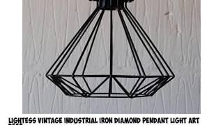 Best Selling Top Best 10 Geometric Hanging Light From Amazon (2017 Review)