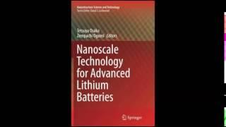 Download Nanoscale Technology for Advanced Lithium Batteries Nanostructure Science and Technology PD
