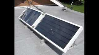 DIY Solar Water Heating Panels