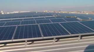 Solar Project Burton Lumber