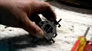 STEP BY STEP HONDA GCV 160 CARBURETOR CLEANING