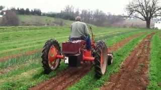 "Electric Allis-Chalmers ""G"" Cultivating Tractor"