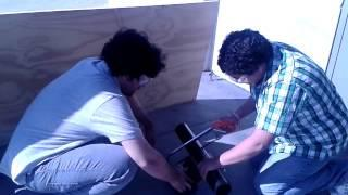 CSULA ME Rehab SOLAR STEAM BOILER [ PHASE-3 ] with Prof. Landsberger part 2