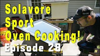 Solar Cooking With The Solavore Sport Solar Oven