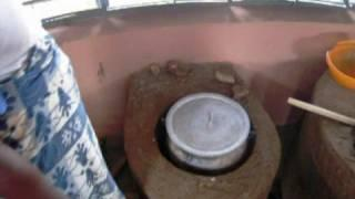 Mud Cooking Stove Construction / Use