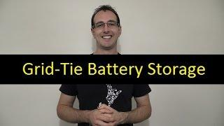 Mikes DIY Powerwall Update 57 - Grid-Tie Battery Storage