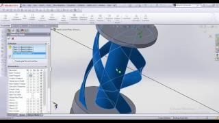 Vertical axis wind turbine flow simulation(simplified)