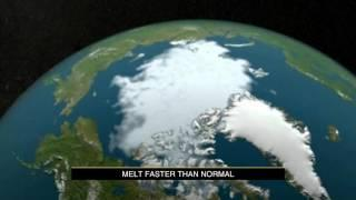 Major shift in ice melting