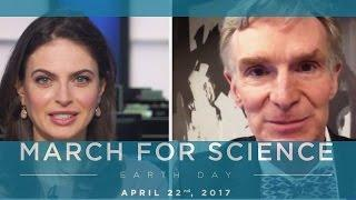 Bill Nye on March for Science  and Trump could be Reelected