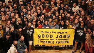 Alexandria Ocasio-Cortez and The Youth Climate Movement