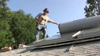 Ezinc Passive Solar Water Heating system