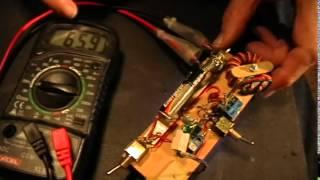 Joule Thief: Less Current with Load Connected than with Disconnected
