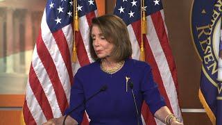 Pelosi welcomes 'enthusiasm' of Green New Deal