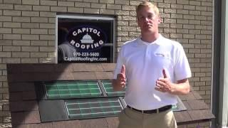 Dow Solar Shingle Advantage from Capitol Roofing and Exteriors
