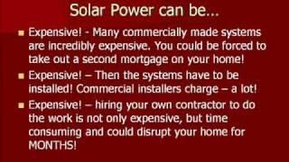 DIY Solar Power Kits - make your own renewable solar energy. Ez.