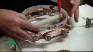 "Bedini Motor / Keppe-Motor und Generator-Spule ""HX9"" Bauanleitung Part 1"