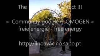 QMOGEN - inertial wheel effect, magnet motor magnetico, magnetic motor