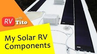 DIY RV Solar - Flexible Solar Panels, Charge Controller and Battery Monitor