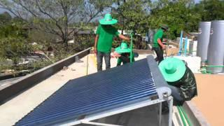 DASADA Solar Hybrid Heat Pump the leader of Green Product.wmv
