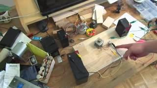 Step by Stepper Bedini Circuit Motor Replication 02 - Schematic and Demo