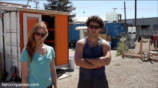 Containertopia: cargo container tiny home town on Oakland lot
