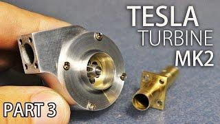 Micro Tesla Turbine MK2 | Part3 | Finishing and Testing