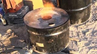 Aluminum Foundry Furnace Test Run First Melt