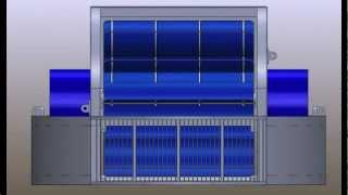 The 2012 OblinArk® hydrokinetic power barge 90-180KW  or free stream energy converter FSEC