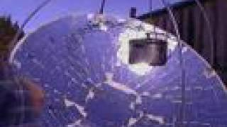 Solar Concentrator Hot Water Pot Boiler