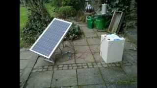 Homemade / DIY solar tracker 2/2