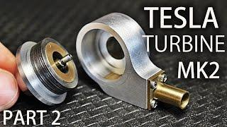 Micro Tesla Turbine MK2 | Part2 | Housing, End Caps, Nozzle