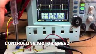 NE555 PWM CONTROL MOTOR SPEED.
