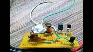 Simple inductor joule thief