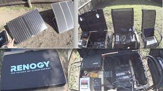 DIY Solar Generator, Portable Power Station & Foldable Renogy Panels