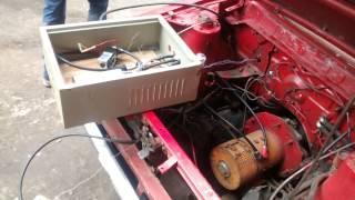 Ethiopian EV Conversion Project Testing 3