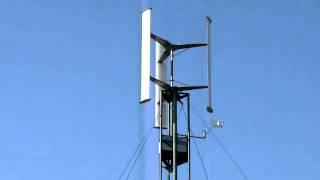 VAWT - Darrieus wind turbine - 24. 03. 2016
