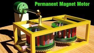Free Energy Generator, Kohei Minato Permanent magnet motor, Must see!!!