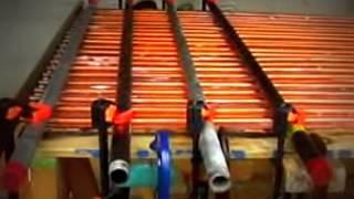 DIY Water Heating Solar Panel