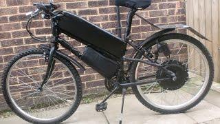 The  ( Self-charging ) - electric bike