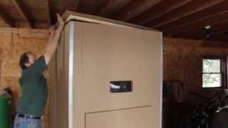Do-it-Yourself Bulk Wood Pellet Storage Bins from Kingdom BioFuel