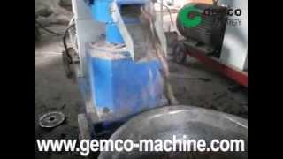 Homemade pellet mill press machine making biofuel peanut shell pellets