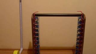 Marx Generator 200.000Volts , homemade lightning
