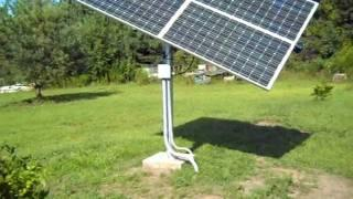 HOMEMADE SOLAR TRACKER