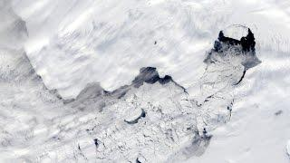 Antarctic ice shelves are melting dramatically