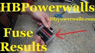 Diy Tesla Powerwall ep22 HBPowerwalls Fuse Test Results