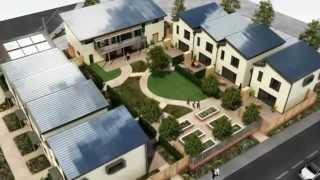 3D Architectural: Zero Carbon Homes Animation