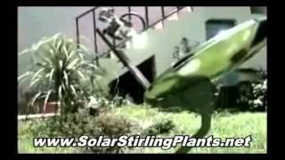 DIY $20 Solar Stirling Plant Saves 33% on Electricity Bill