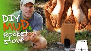 How To Make A DIY Rocket Stove Out Of Mud